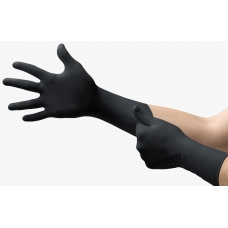 Black Nitrile Gloves Ansell 93-862 Box 100un