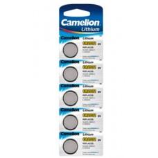 Pilha lithium botão CR2032 3v 220ma 5X blister CAMELION