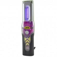 Lanterna LED Recarregável com luz ultra violeta JBM