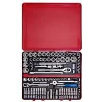"KING TONY 9033CR 135 pcs 1/4""+3/8""+1/2"" Socket & Tool Set"