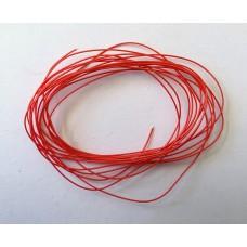 Fio de cobre alta precisão isolamento Kynar 2m - Vermelho
