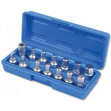 Kit de chaves para bujões de óleo LASER