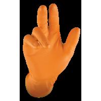 GRIPSTER™ SKINS Orange 100% Nitrile Gloves (50UN BOX)