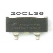 FAIRCHILD MOSFET 20CL36 TO263