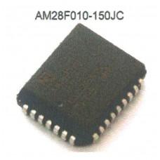 AMD FLASH MEMORY AM28F010-150JC PLCC32
