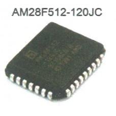 AMD FLASH MEMORY AM28F512-120JC PLCC32