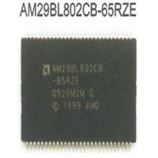 AMD FLASH MEMORY AM29BL802CB-65RZE TSOP56