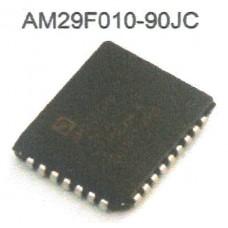 AMD FLASH MEMORY AM29F010-90JC PLCC32