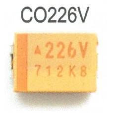 TANTALIUM CAPACITOR 22mF 35V SMD (10 Peças package)