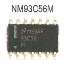 NATIONAL S. NMC93C56M EEPROM SOP14