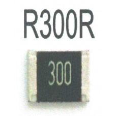 RESISTOR 300R (25 Peças package)