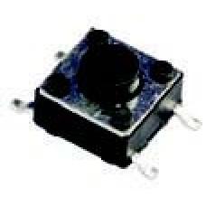 Microswitch tamanho:: 6x6x4,3 mm; Aberto (10 unidades)