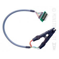 Adapter clip from SOIC-8 to DIP-8