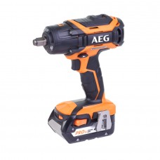 "18V 5,0Ah 1/2"" 500Nm Brushless Impact Wrench AEG BSS18C12ZB"
