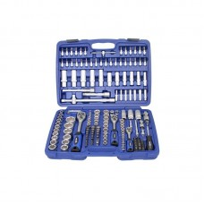 179 Pcs 1/4″ + 3/8″ + 1/2″ Socket Set