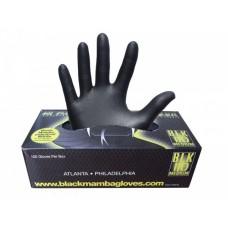 Luvas Nitrilo Preto Black Mamba (Caixa 100 un)