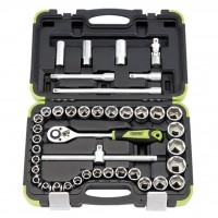 "1/2"" SQ. DR. COMBINATION SOCKET SET (41 PIECE)"