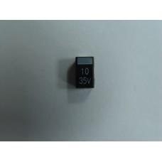 CAPACITOR 10mF 35V (10 Peças package)