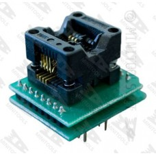 Adapter socket from SOIC-8 to DIP-8