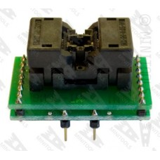 Adapter socket from TSSOP8 3x4,4mm to DIL