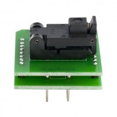 Adapter socket from SOT23-5/6 SOCKET to DIL8 PIN
