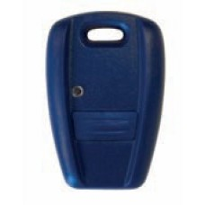 Cover for Fiat keys blue color with one button