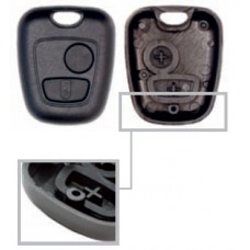 Cover for Peugeot and Citroen keys with 2 buttons