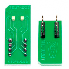Adapter board from MSOP8 PCB to DIL8 PIN