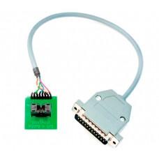 Adapter socket from MSOP8 SOCKET to DP3