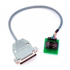 Adapter socket from TSSOP8 SOCKET to DP3