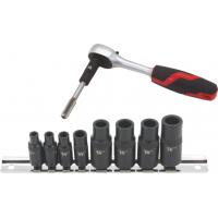 Magnetic Tap Socket Set 8-Piece Tap Holders 1-8mm